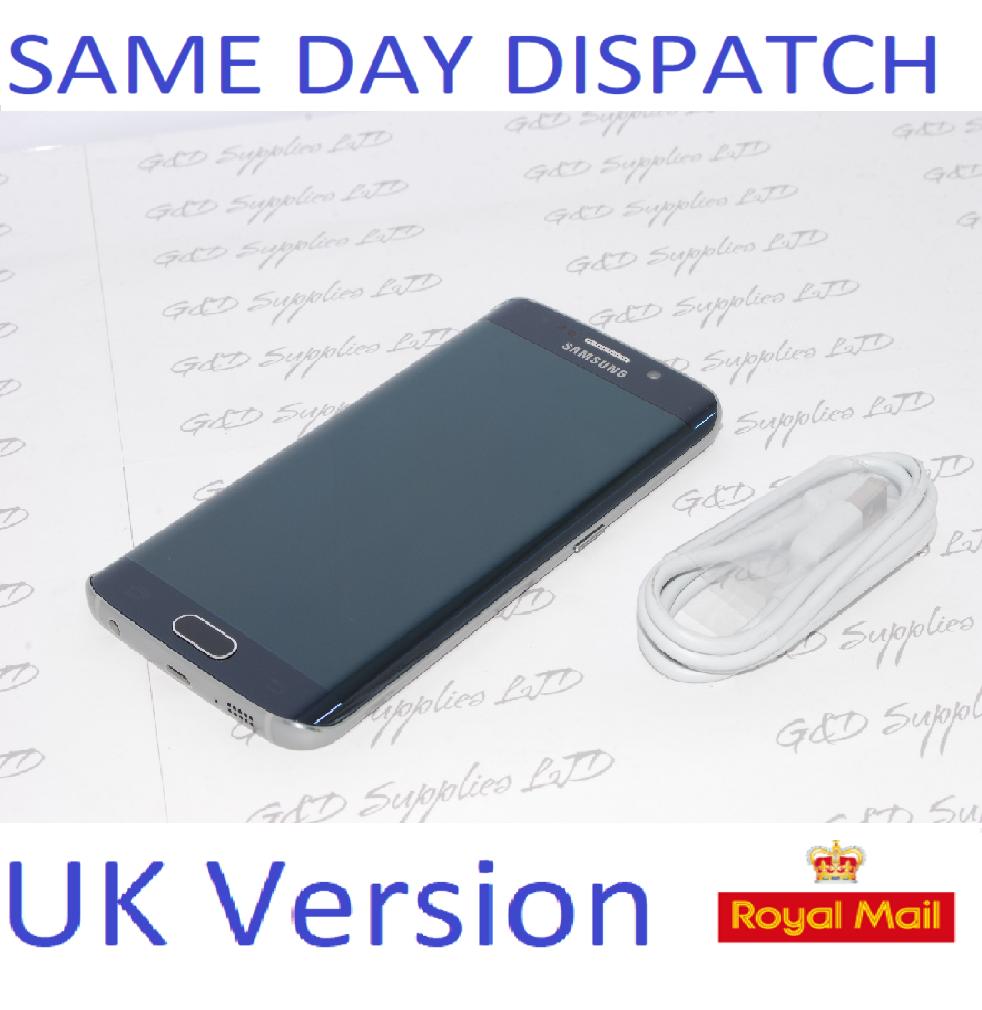 Samsung Galaxy S6 edge  32GB SM-G925F UNLOCKED 4G-BLACK  UK Version  NO BOX