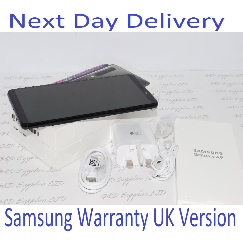 Samsung Galaxy A9 (2018) SM-A920F - 6GB RAM 128GB Black Single Sim UNLOCKED UK Version #