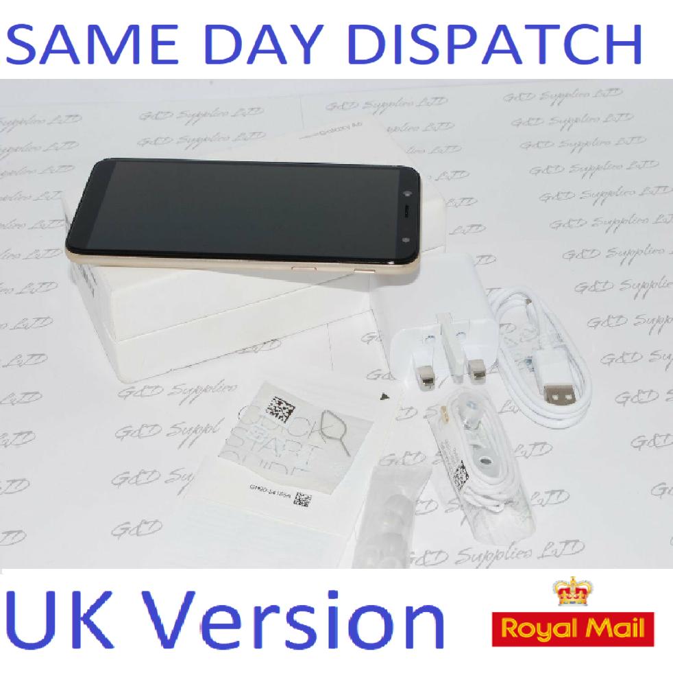New Samsung Galaxy A6 SM-A600 2018 4G LTE 32GB 16MP UK Version GOLD