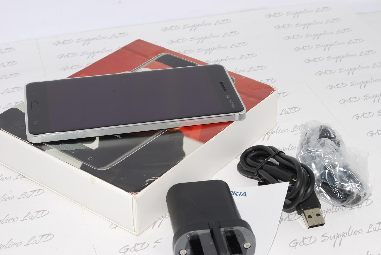 Nokia 6 LTE 4G 3GB RAM 32GB  Silver Unlocked Smartphone UK stock #