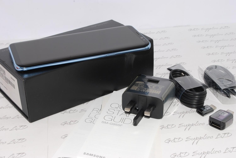 Samsung Galaxy S8 Plus SM-G955F 64GB UNLOCKED Sim-Free Blue  UK STOCK