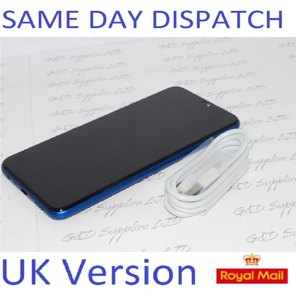 HUAWEI HONOR 8X JSN-L21 FACTORY UNLOCKED BLUE 4GB RAM 64GB DUAL SIM 4G LTE UK version NO BOX