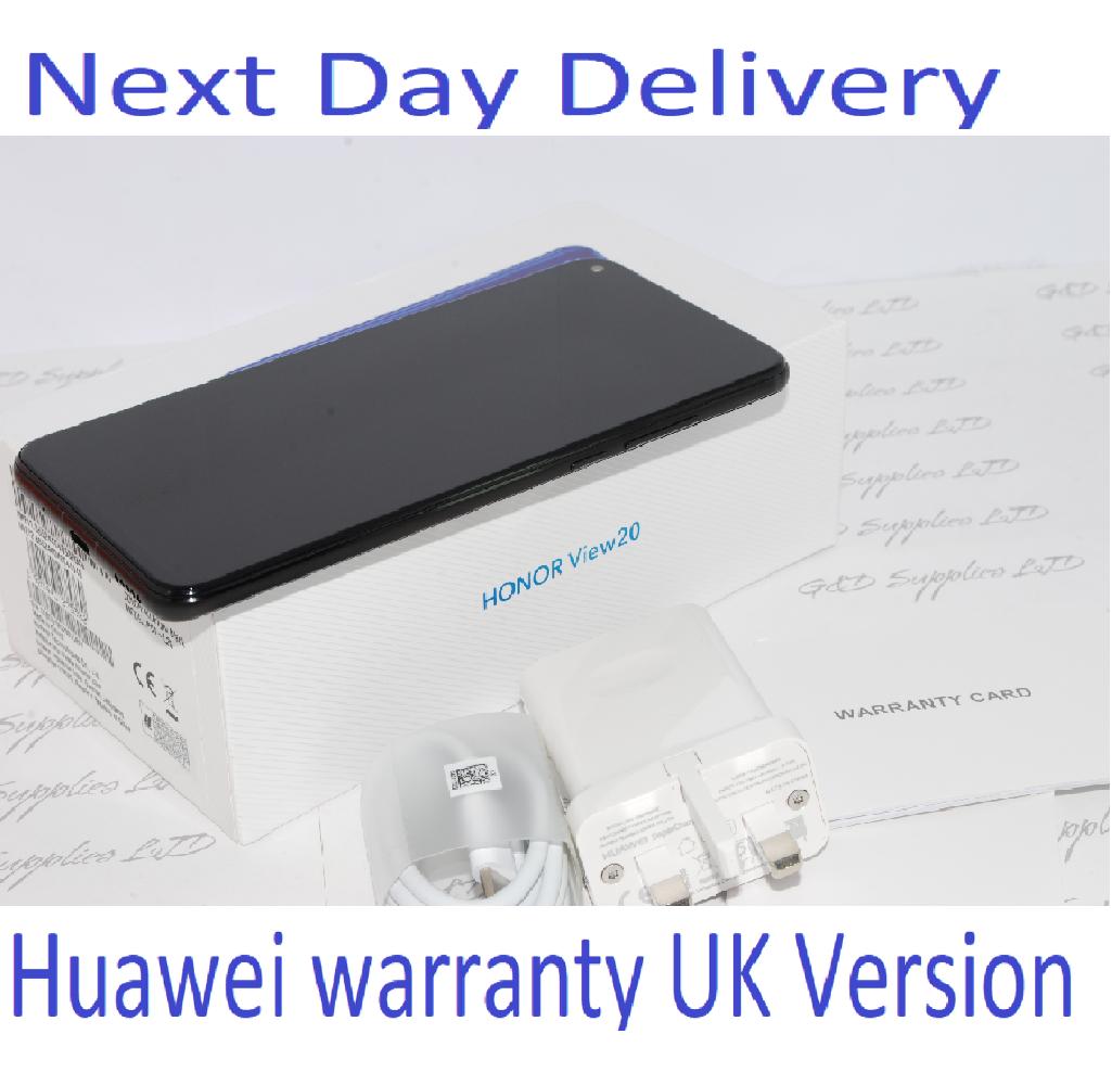 HONOR View 20 Black 128GB 6GB Ram Android Dual-SIM Unlocked Huawei   UK version #