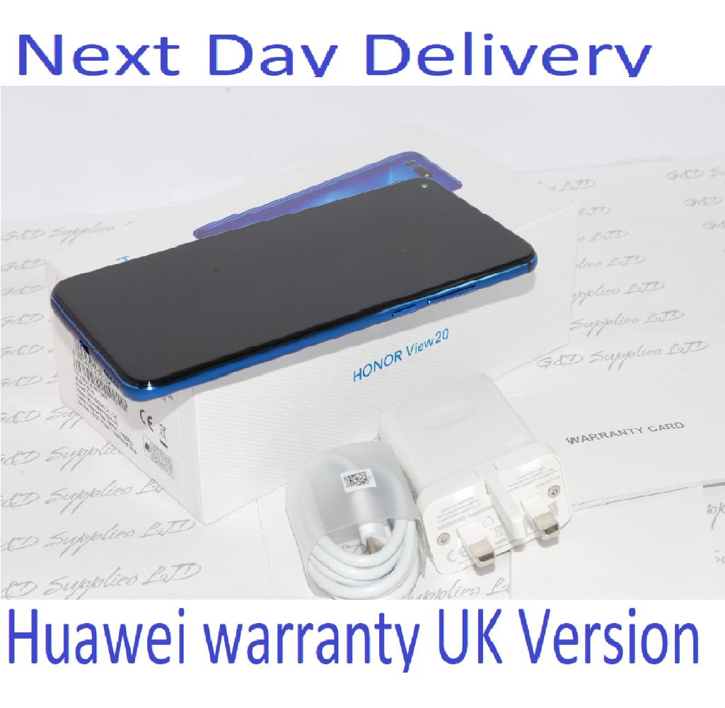 HONOR View 20 Blue 128GB 6GB Ram Android Dual-SIM Unlocked Huawei  UK version #