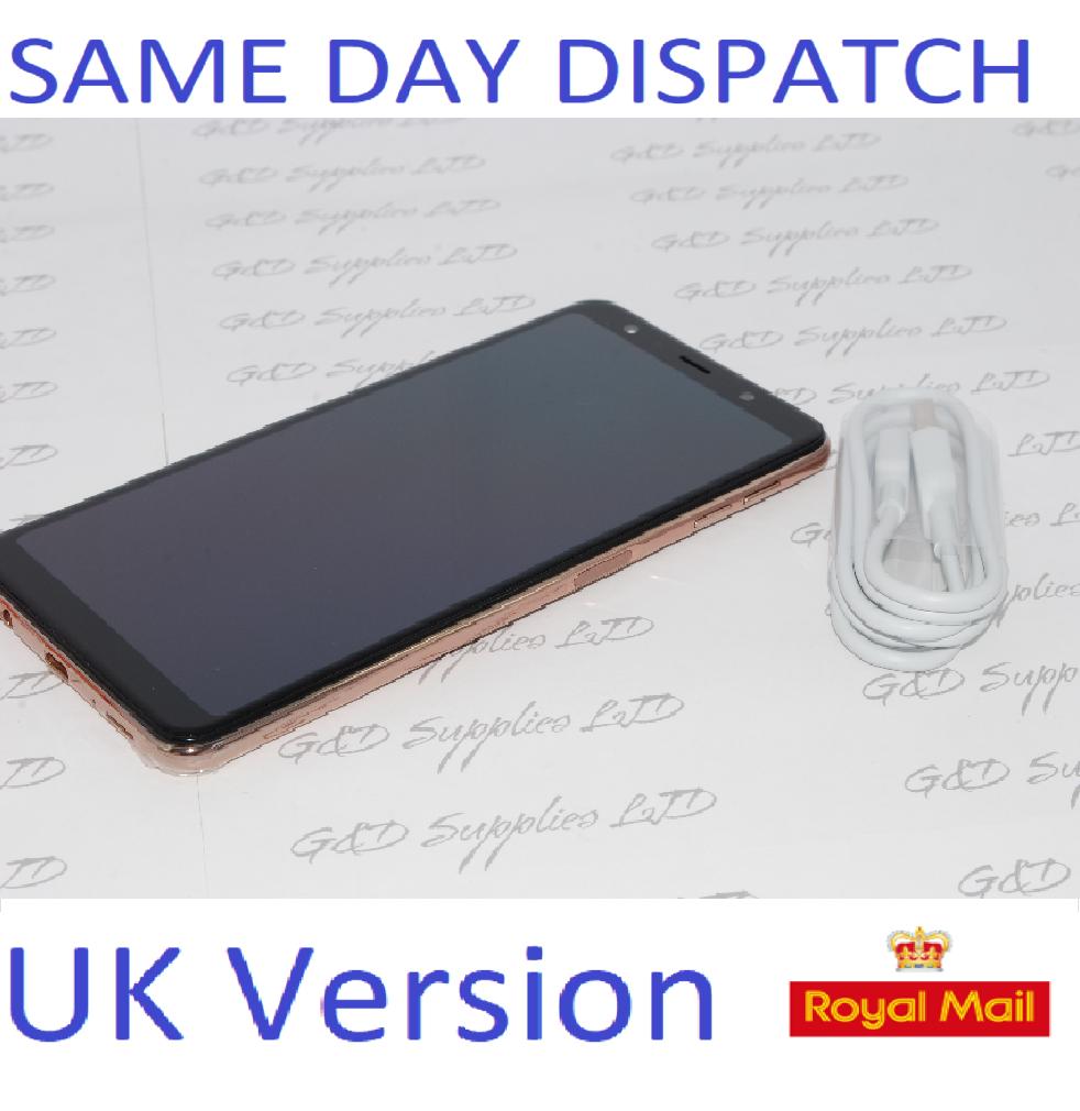 SAMSUNG GALAXY A7 2018 SM-A750FN GOLD UNLOCKED  UK Version NO BOX