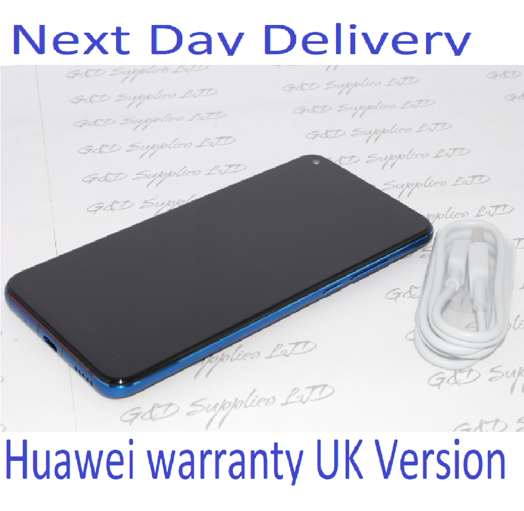 HONOR View 20 Blue 256GB 8GB Ram Android Dual-SIM Unlocked Huawei UK version NO BOX