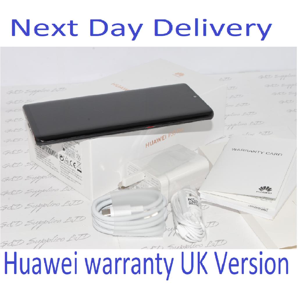 NEW Huawei P30 PRO Single-SIM 128GB BLACK Single 8GB Sim UNLOCKED UK Version