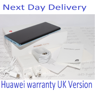 Huawei P30 PRO Single-SIM 128GB CRYSTAL Single Sim 8GB UNLOCKED UK Version #