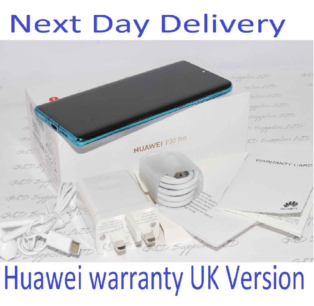 Huawei P30 PRO Single-SIM 128GB Aurora Single Sim 8GB UNLOCKED UK Version #