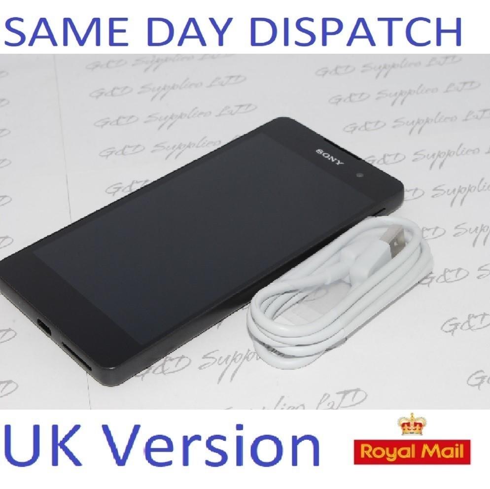 Sony Xperia E5 F3311 16GB Android Smartphone Graphite Black UNLOCKED NO BOX