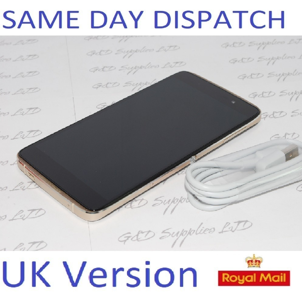 ALCATEL IDOL 4 6055P GOLD 16GB 4G UNLOCKED SIM-FREE Smartphone  UK STOCK  NOBOX