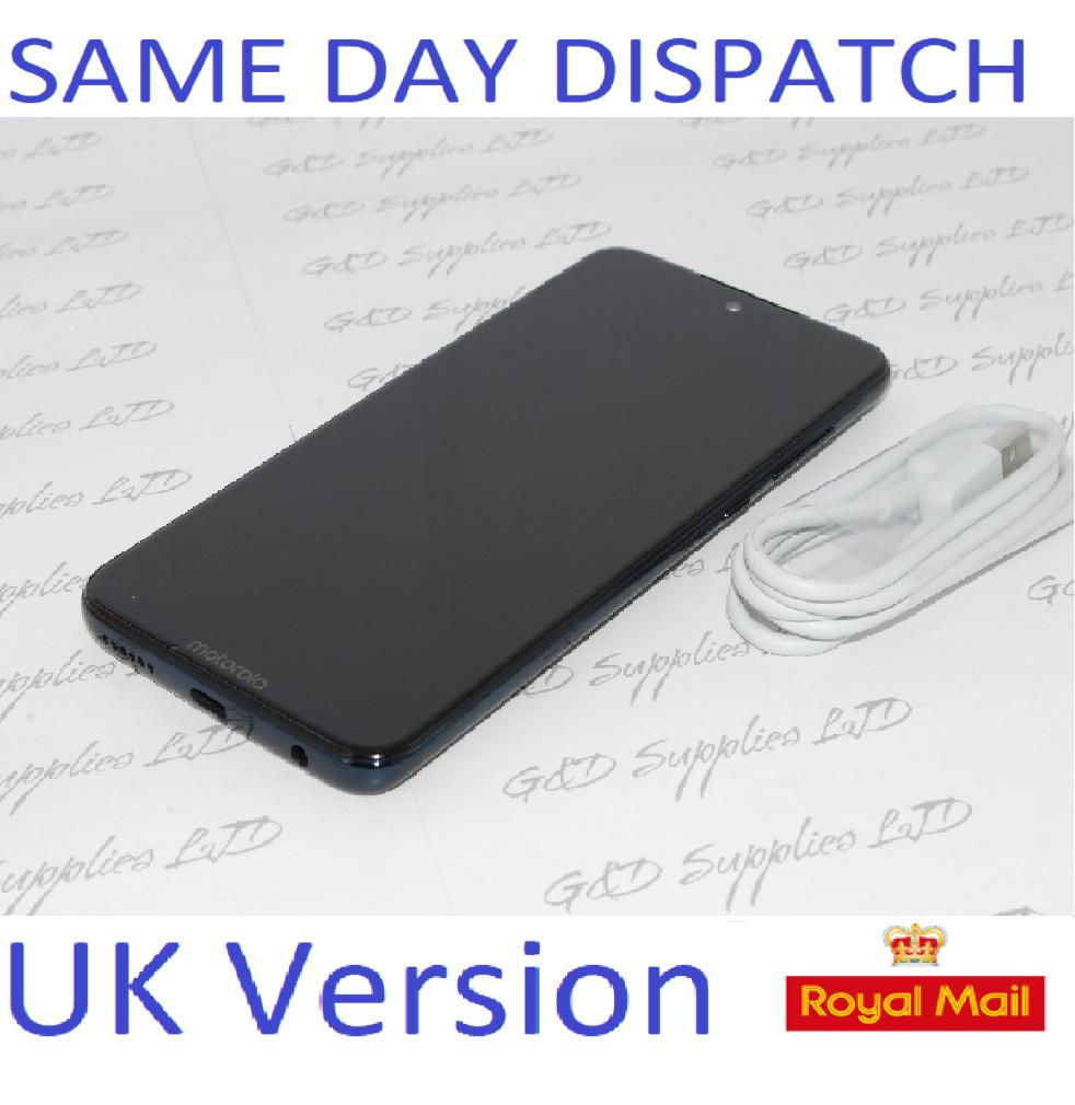 MOTOROLA G7 Plus  64GB XT195-3 Deep Indigo Unlocked Single Sim UK version NO BOX
