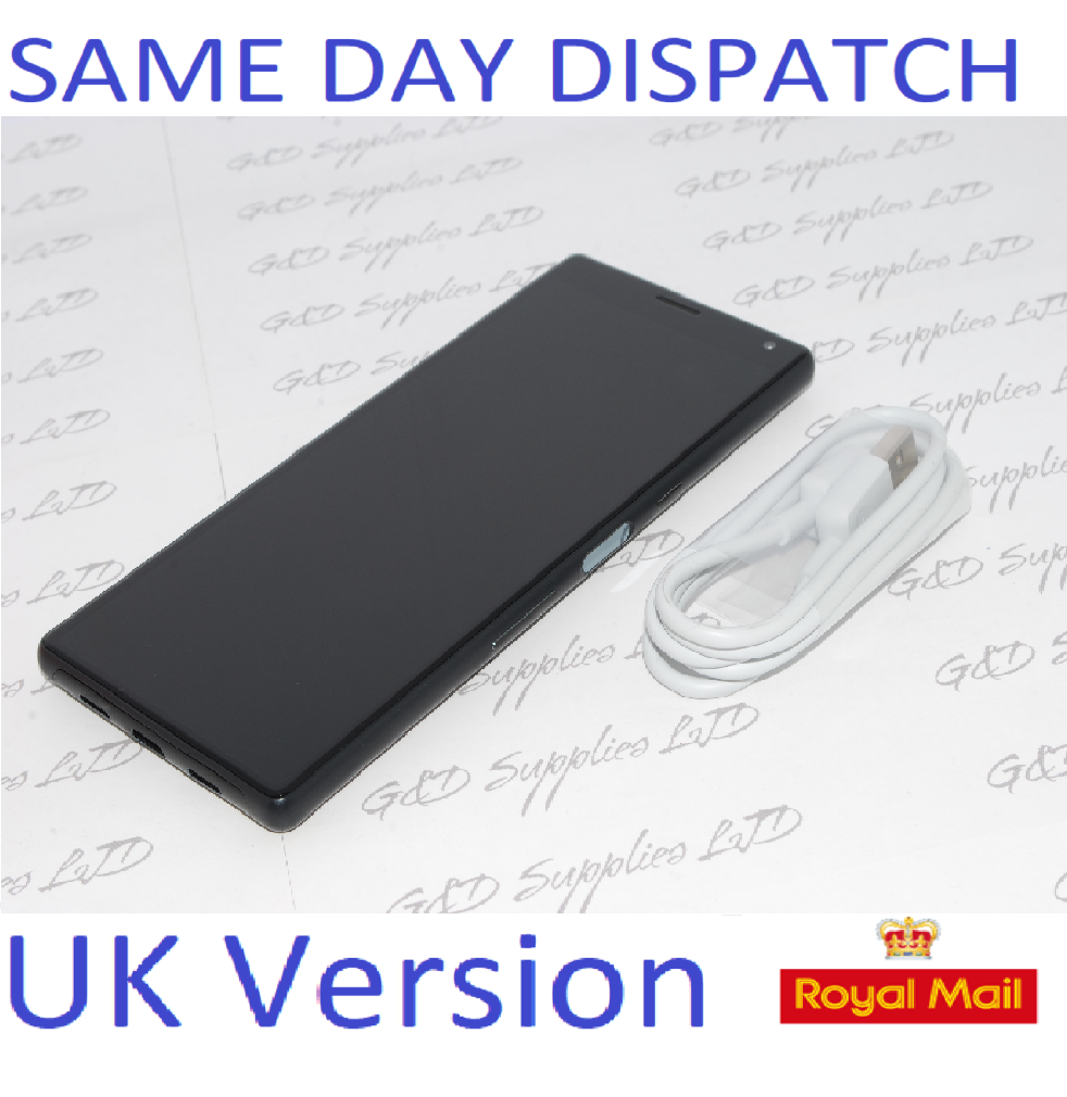 "Sony Xperia 10 Black 6.0"" 64GB 4G LTE Android 9.0 Sim Free Unlocked UK Stock NO BOX"