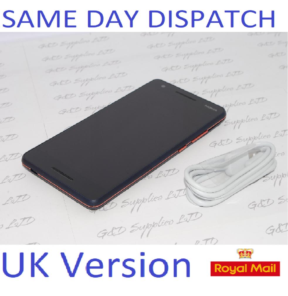 Nokia 2.1 5.5 Inch 8GB 8MP 4G Mobile Phone - Blue Copper Unlocked UK stock NO Box