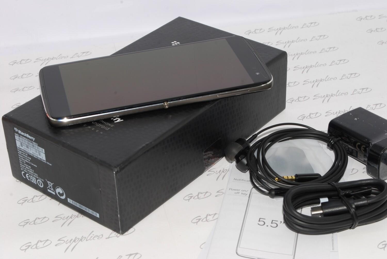 "Blackberry DTEK60 Black 32GB Unlocked Smartphones 5.5"" Touchscreen, 21MP Camera SIM-Free UK STOCK  #"
