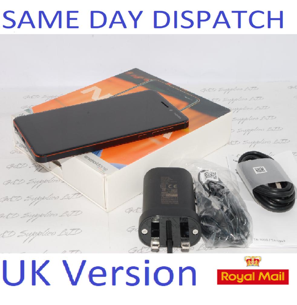 Nokia 6.1 (2018)  32GB, Black touchscreen unlocked Sim-Free 3G 4G  UK STOCK