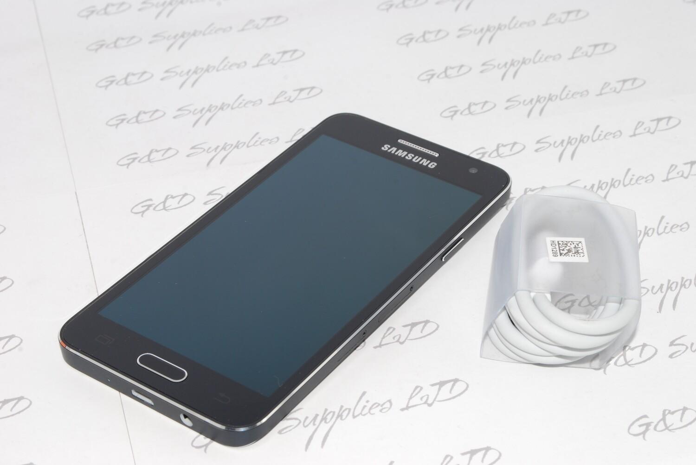 Samsung Galaxy A3 A300FU  16GB  Unlocked black SIM Free 2015 UK STOCK, NO BOX