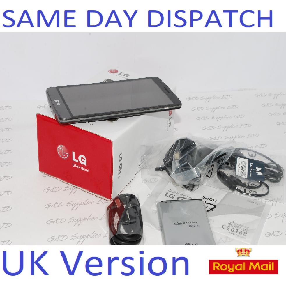LG G3 S LG-D722 8GB 5MP Mobile Android Smartphone Titan Grey Unlocked UK STOCK #