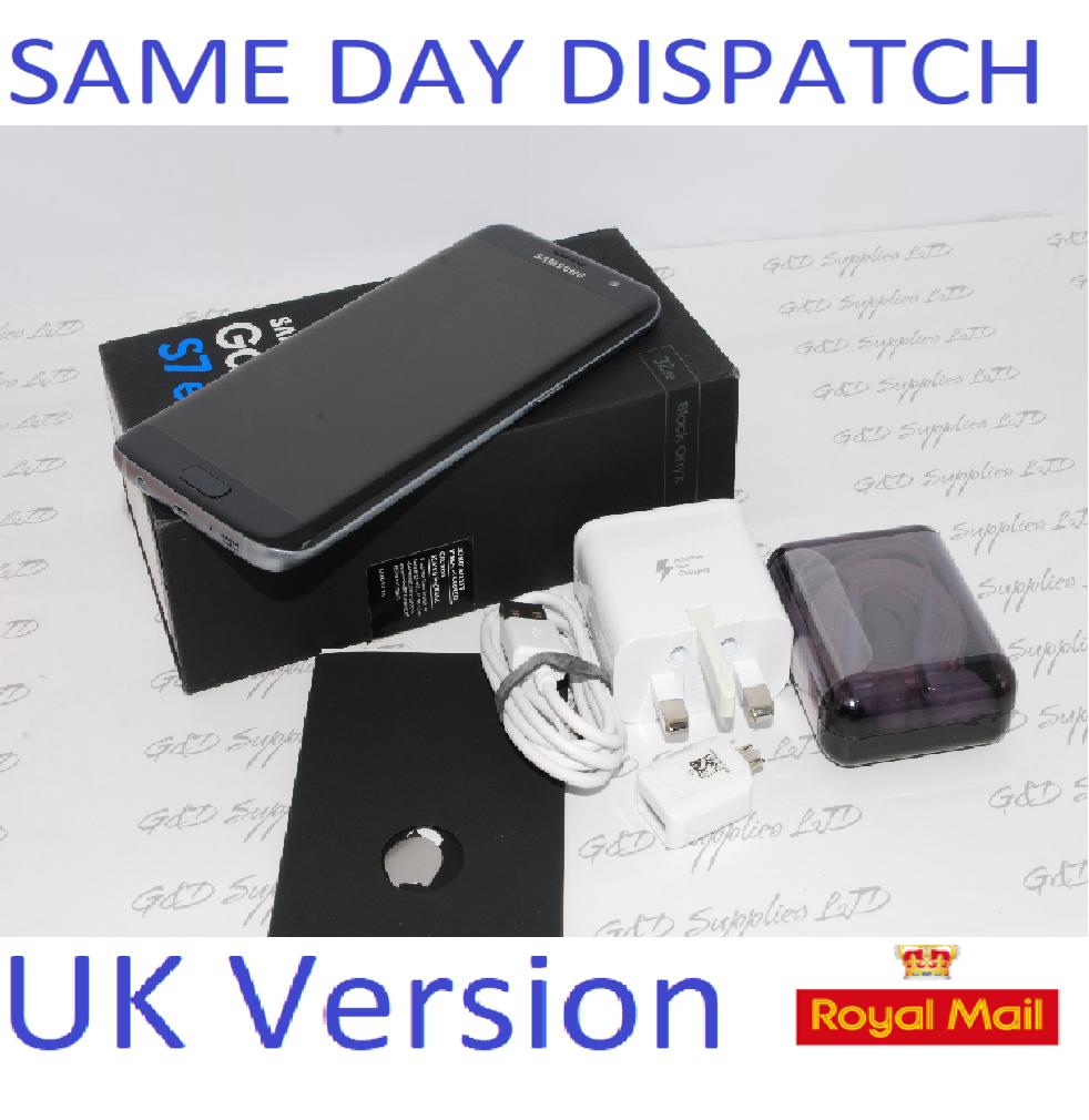 # Samsung Galaxy S7 32GB  Edge G935F Unlocked SIM Free Smartphone Black UK