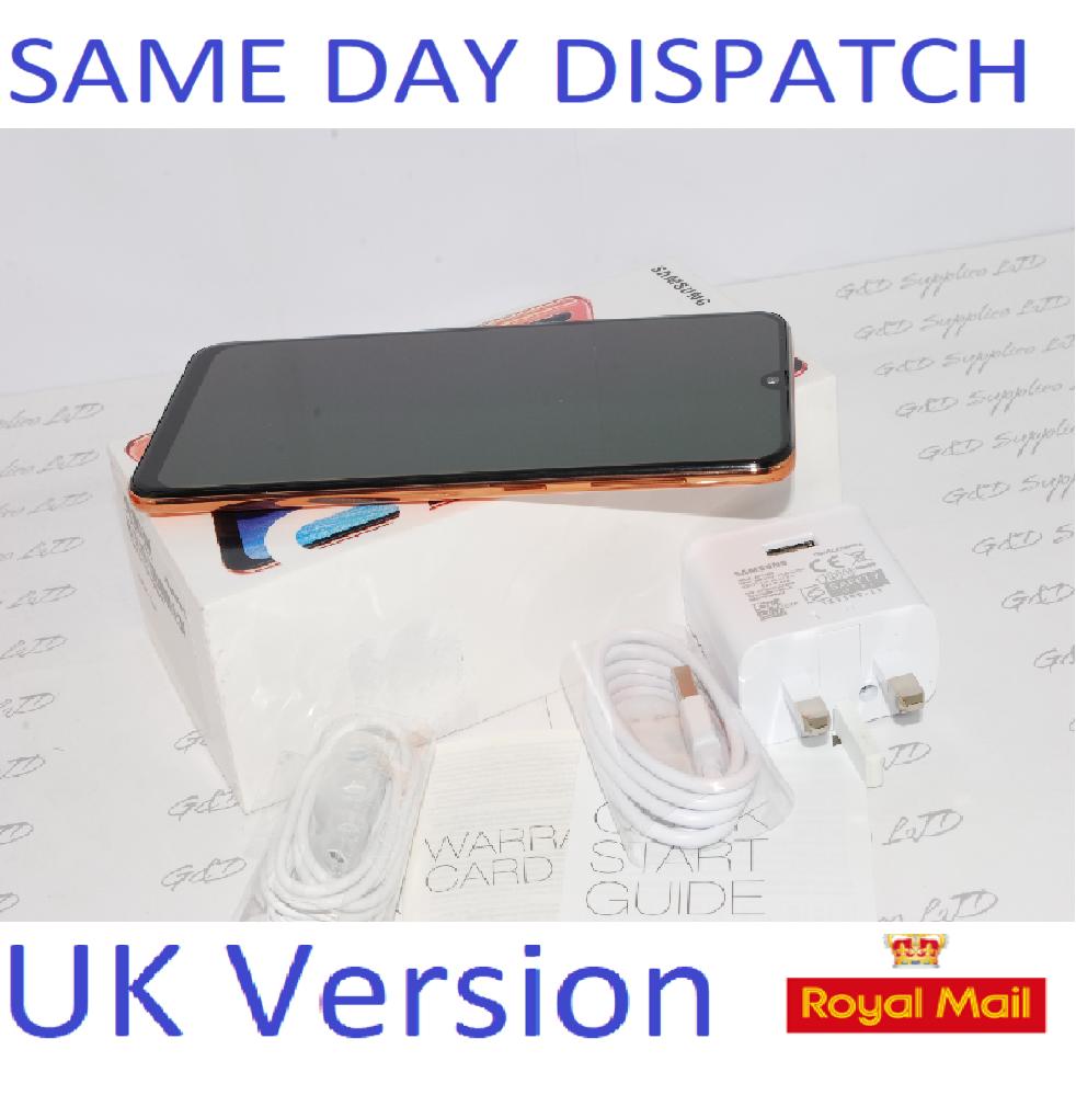 SAMSUNG Galaxy A50 CORAL 4GB 128GB NFC dual SIM Unlocked Smartphone  UK Version #