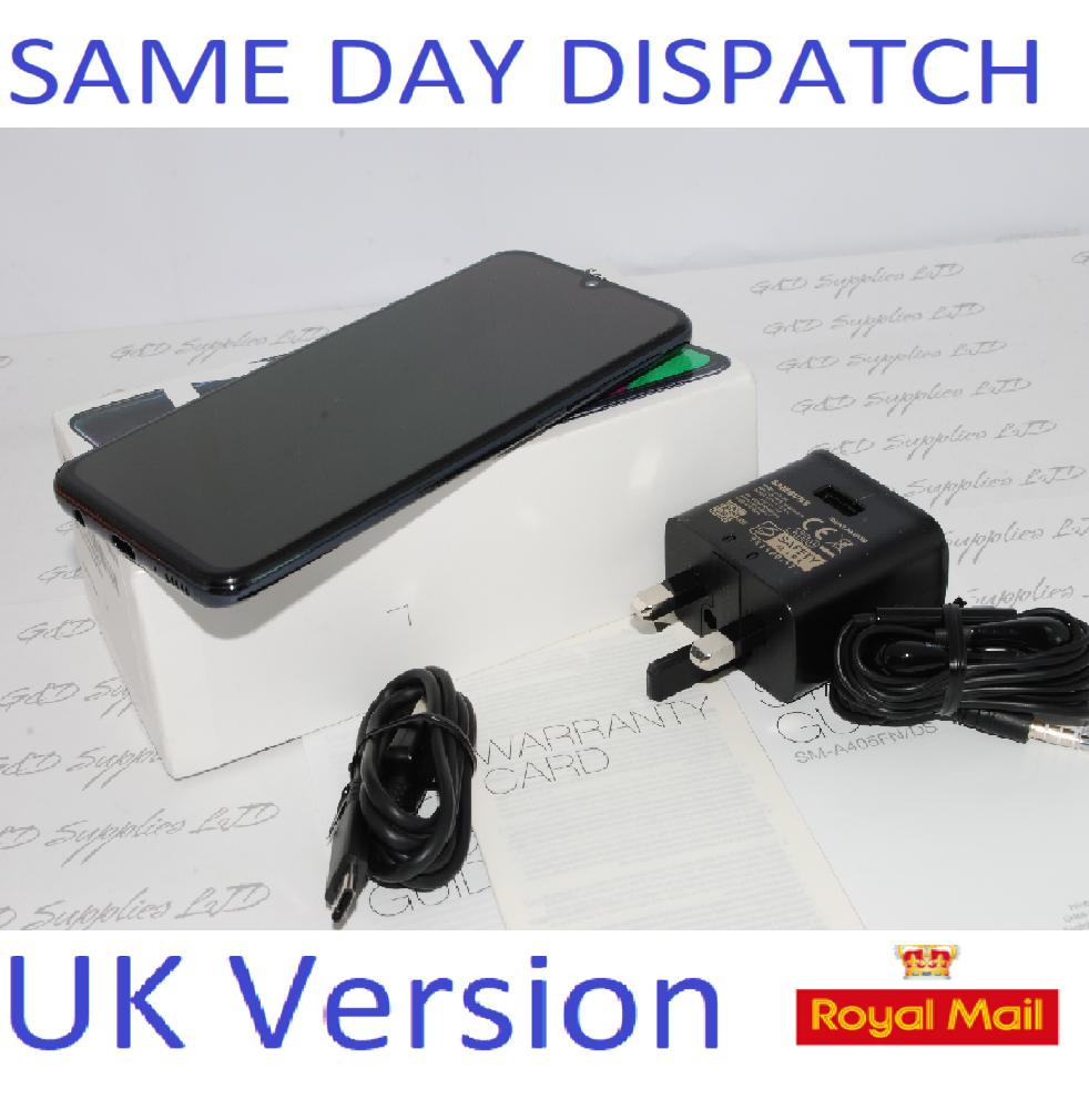 # SAMSUNG A40 SM-A405F 64GB 2019 4G LTE DUAL SIM Black  NFC Unlocked  UK Version