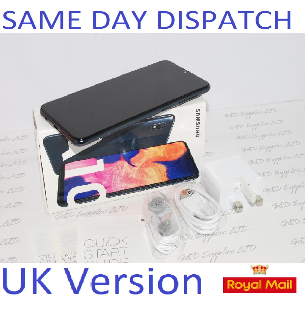 # Samsung Galaxy A10 Dual Sim (2019) 32GB 4G LTE NFC Black  Unlocked UK Version