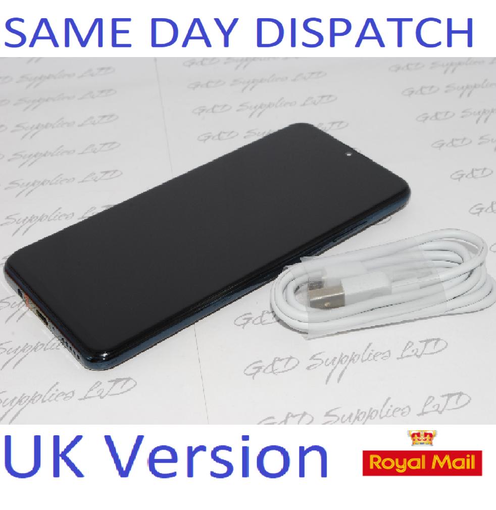 Huawei P30 Lite  4G Smartphone 4GB RAM 128GB Single Sim Black UNLOCKED UK Version NO BOX