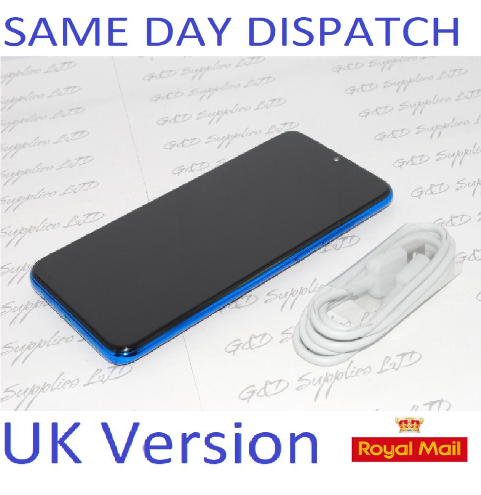 Huawei Honor 20 Lite Blue 128GB Dual Sim 4G Android  UNLOCKED NFC Sim UK version NO BOX