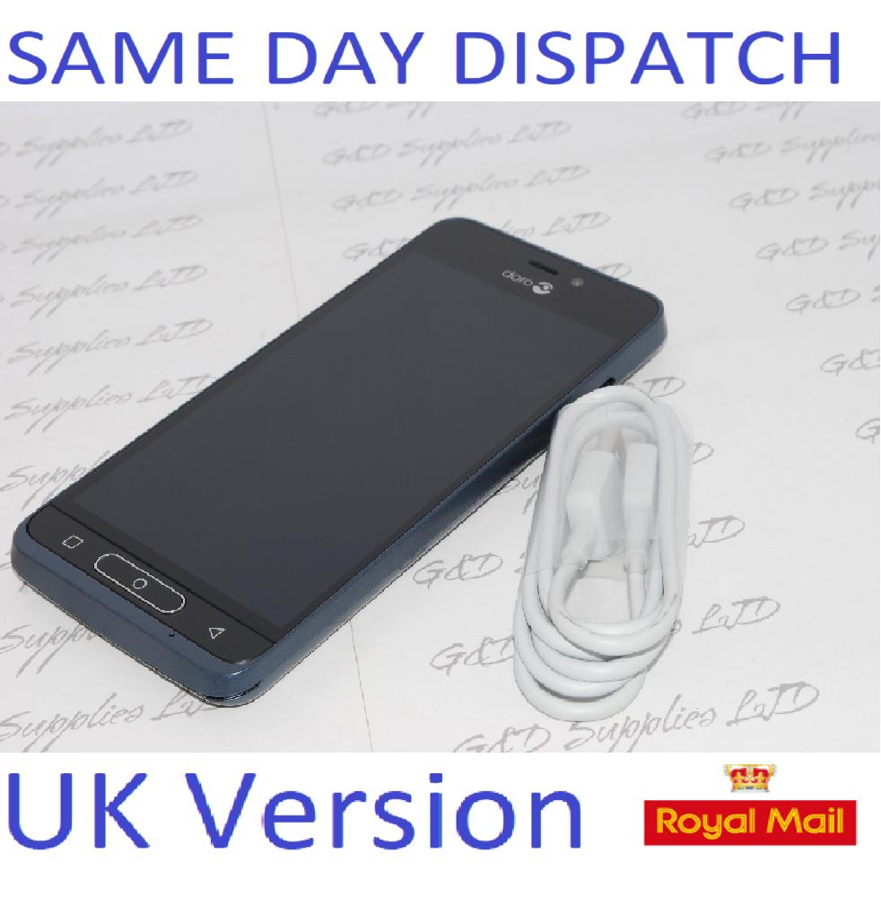 Doro 8035 DSB-0170 16GB Memory, Unlocked SMART PHONE BLUE UK STOCK NO BOX