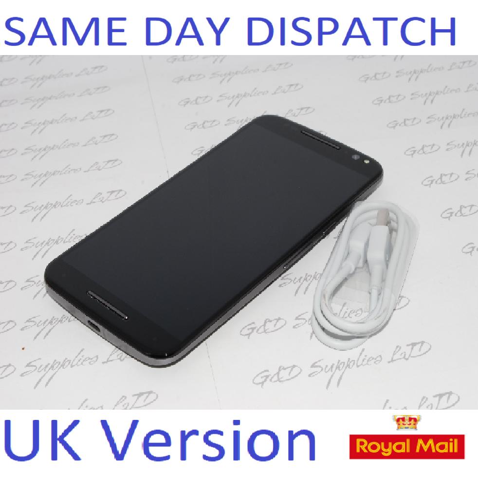 Motorola Moto X Style XT1572 32GB 4G Unlocked Black Smartphone UK STOCK  NO BOX