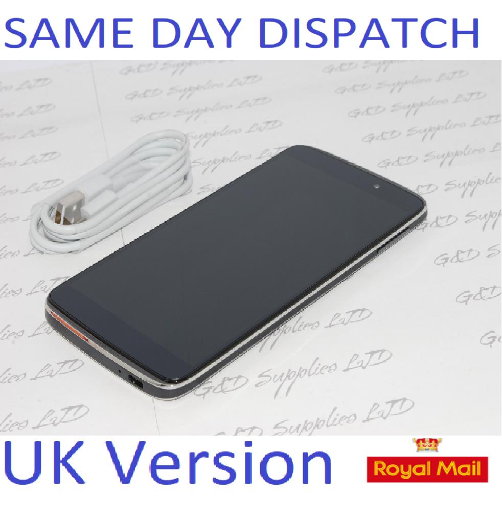 """Alcatel ONE TOUCH IDOL 3 6045Y 16GB Dark Gray UNLOCKED 5.5"""" HD Smartphone NO BOX"""