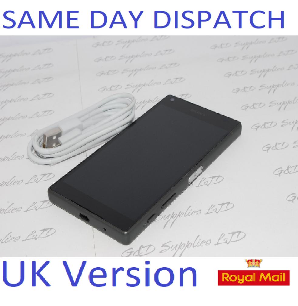 Sony Xperia Z5 Compact E5823 - 32GB - Unlocked Black UNLOCKED UK STOCK NO BOX