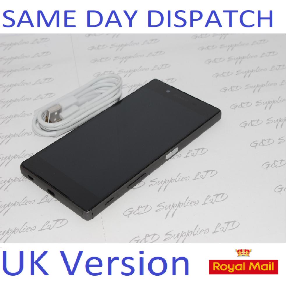 Sony Xperia Z5 E6653 - 32GB - Graphite Black (Unlocked) Smartphone UK STOCK no box