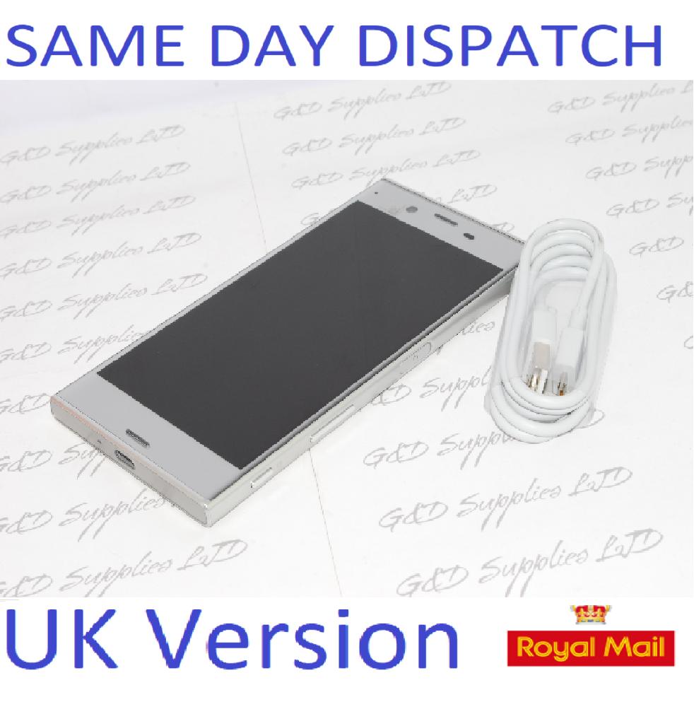 Sony Xperia XZ F8331 Silver 32GB WiFi NFC GPS 4G  Unlocked Smartphone NO BOX
