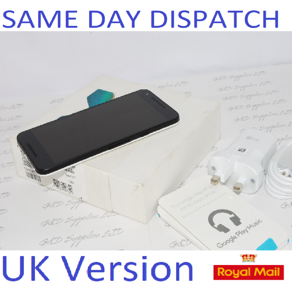 LG Nexus 5X Android Unlocked Fingerprint Smartphone White #
