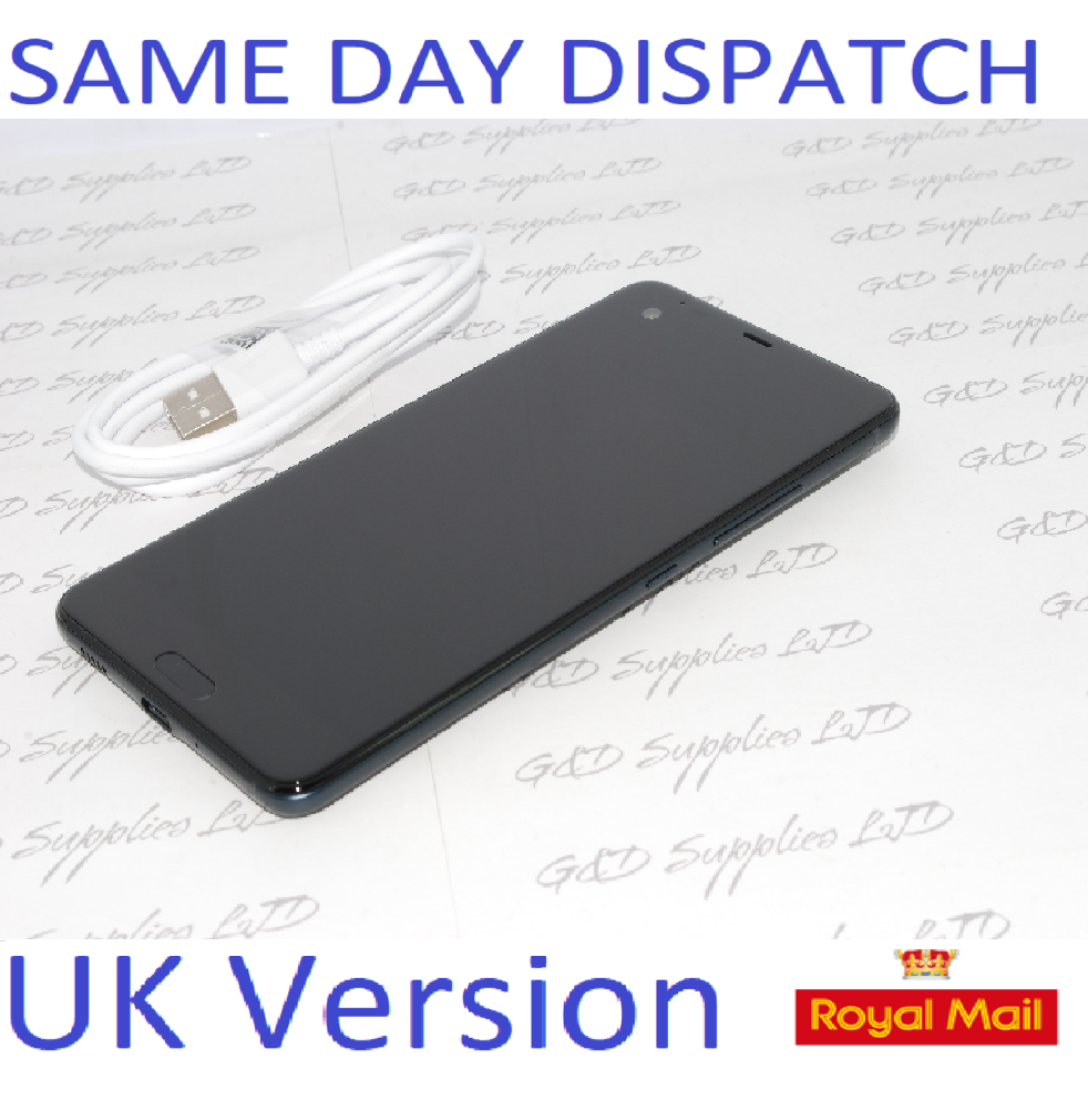 "HTC U Ultra 64GB 4GB RAM 5.7"" 12MP Camera Unlocked Smartphone UK Stock Black  NO BOX"