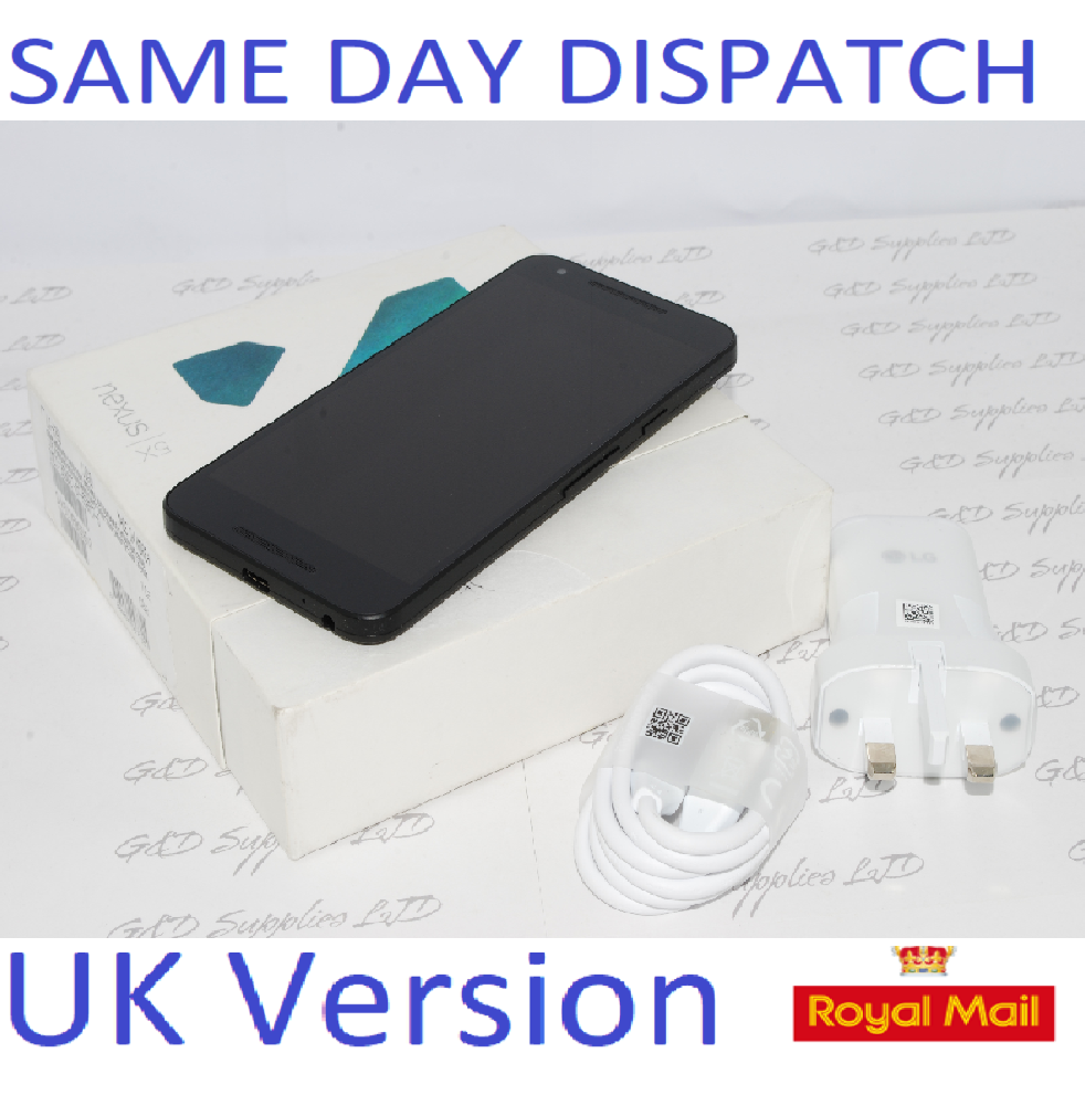 LG Nexus 5X Android Unlocked Fingerprint Smartphone black #