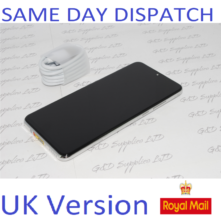 Huawei P30 Lite  4G Smartphone 4GB RAM 128GB Single Sim White UNLOCKED UK Version NO BOX