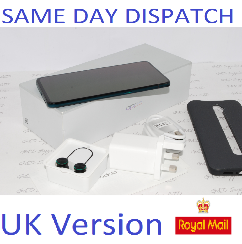 Oppo Reno 10x Zoom - 256GB 4G Ocean Green (Unlocked) Smartphone Dual Sim UK version #