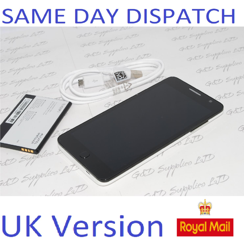 Alcatel One Touch Pop Star Classic 5022X White unlocked sim-free NO BOX