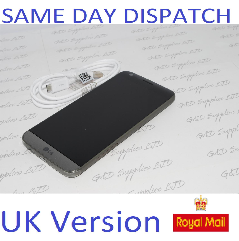 LG G5 H850 32GB Gray 4G Unlocked Smartphone Android  UK STOCK NO BOX