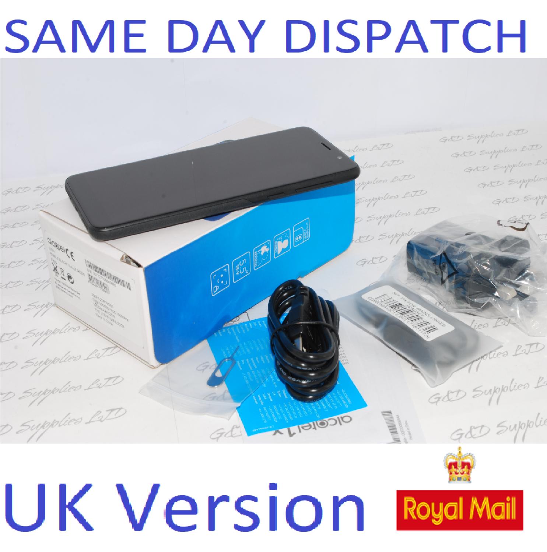 Alcatel 1X 2019 5008Y Sim Free Unlocked 4G Black Smartphone unlocked  UK STOCK #