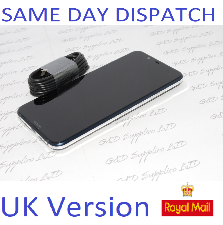 Nokia 8.1 6.18 inch 64GB Unlocked Smartphone - Blue Single-SIM UK STOCK no box