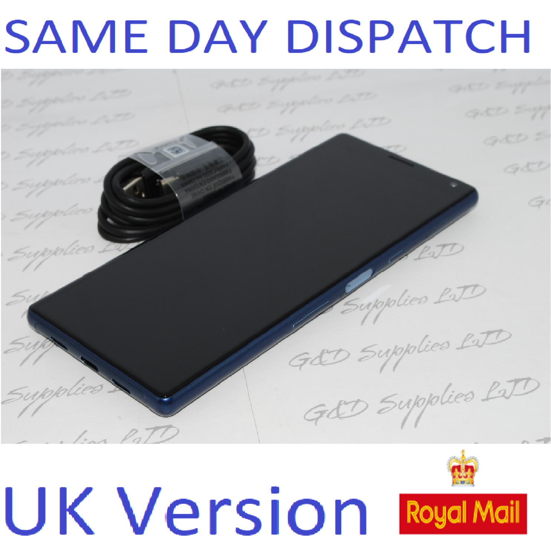 "# Sony Xperia 10 Blue 6.0"" 64GB 4G LTE Android 9.0 Sim Free Unlocked UK Stock NO BOX"
