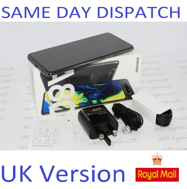 Samsung Galaxy A80 A805FD 128GB 8GB Dual SIM Unlocked  UK Version #