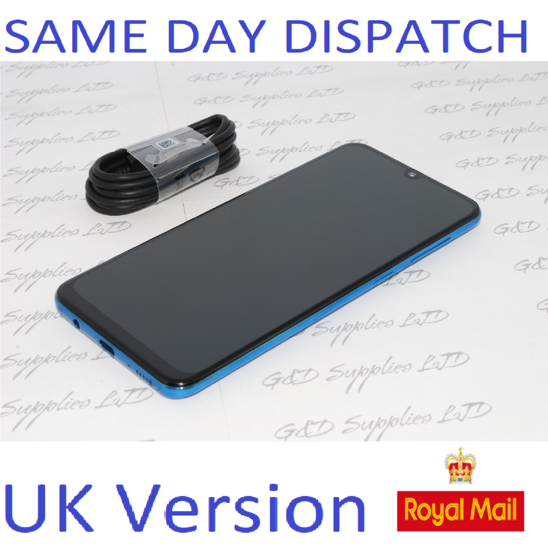 # SAMSUNG Galaxy A50 Blue 4GB 128GB NFC dual SIM Unlocked Smartphone  UK Version NO BOX