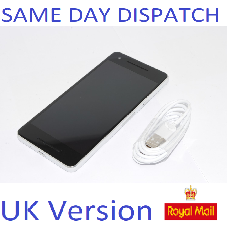 "Google Pixel 2 White Android Smartphone Unlocked 5.0"" 64GB UK STOCK no box"