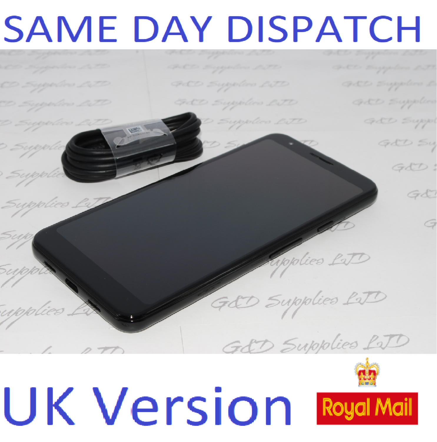 Google Pixel 3a 5.56 Inch 64GB 4GB Android Mobile Unlocked Phone - Black  UK version NO BOX