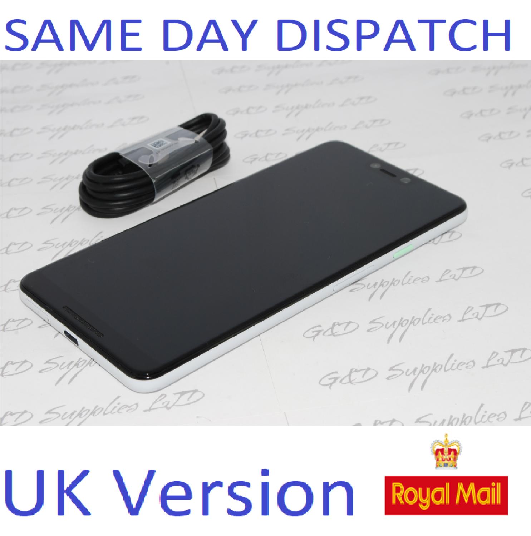 Google Pixel 3 XL 64GB - White (Unlocked) Smartphone UK STOCK NO BOX