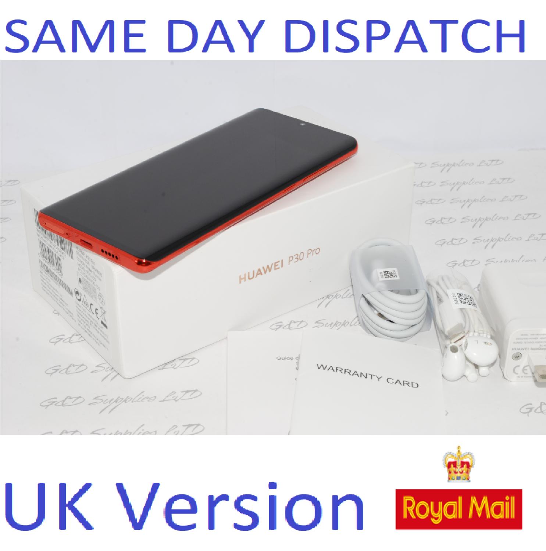 Huawei P30 PRO Single-SIM 512GB Amber Dual Sim 8GB UNLOCKED UK Version #